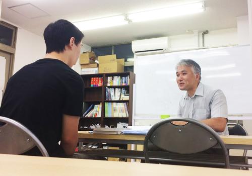 府中市の学習塾 エコール・ゼミでの授業風景